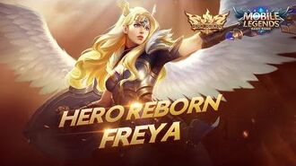 Hero Reborn Freya the Valkyrie Mobile Legends Bang Bang