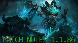 Patch Notes 1.1.86