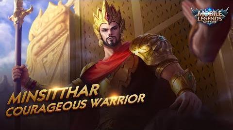 New Hero Courageous Warrior Minsitthar Mobile Legends Bang Bang!