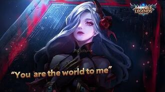 """""""You are the world to me"""" New Hero Carmilla Trailer Mobile Legends Bang Bang!"""