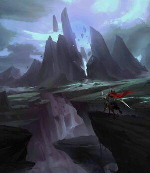 Barren Lands (Portrait)