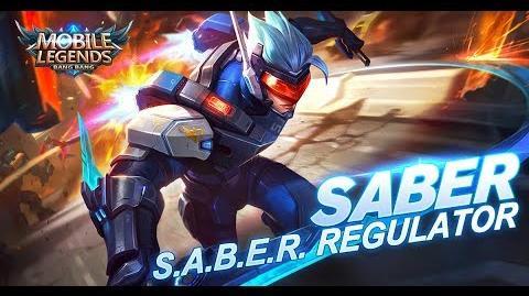 Mobile Legends Bang Bang! Saber New Skin S.A.B.E.R. Regulator