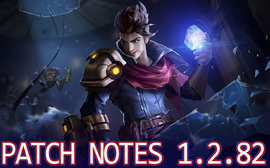 Patch Notes 1.2.82