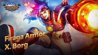 New Hero Firaga Armor X.Borg Mobile Legends Bang Bang!-0