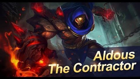 Mobile Legends Bang Bang! New Hero Contractor Aldous