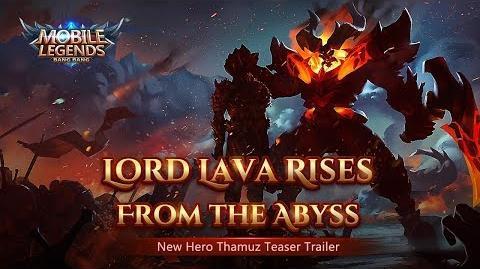 Lava Lord Rises New Hero Thamuz Trailer Mobile Legends Bang Bang!