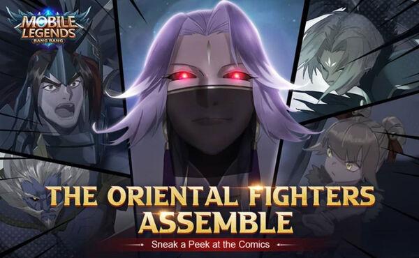Comics Oriental Fighters Assemble