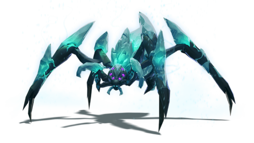 Icy Crawler monster