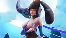 Moon goddess skin