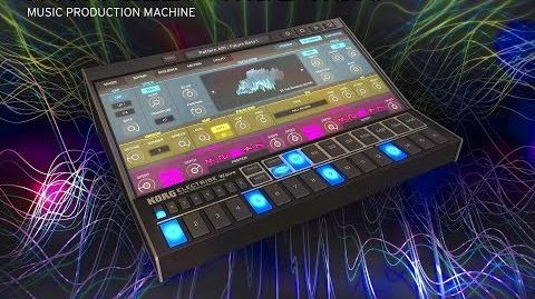 KORG ELECTRIBE WAVE - Setting Up & Getting Started - Tutorial for the iPad