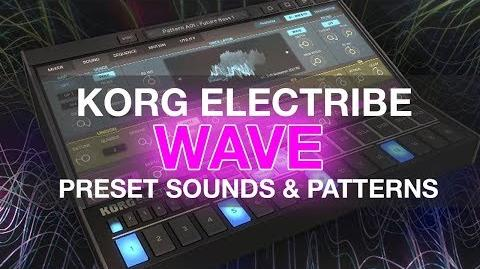 Korg Electribe Wave iPad - Preset Sounds, Songs & Patterns - EDM Dubstep Trap R&B Chillout and more