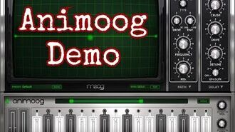ANIMOOG by Moog - Demo for the iPad