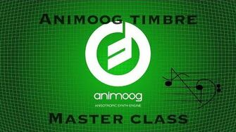 Animoog Timbre Creation using TwistedWave MasterClass