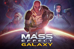Mass Effect Galaxy logo