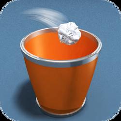 Paper Toss iOS logo