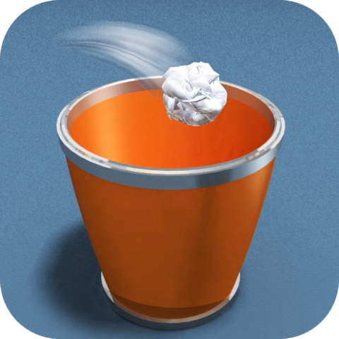 File:Paper Toss iOS logo.png