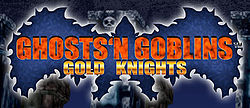 Ghosts'n Goblins Gold Knights logo