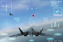 Ace Combat Xi Gameplay