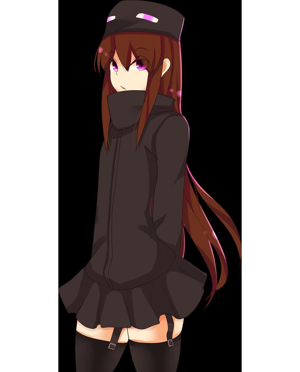 Anime Enderman Girl