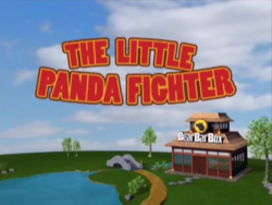 The Little Panda Fighter Logo