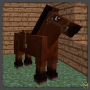 Med Brown Horse-0