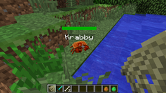 Tamed crab