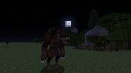 Werewolf at night