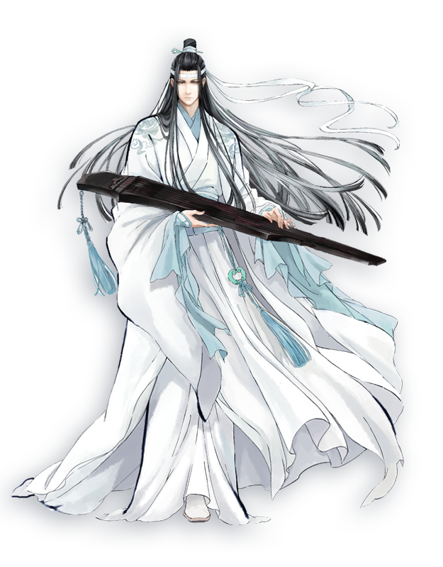 Lan Wangji | Grandmaster of Demonic Cultivation - Founder of