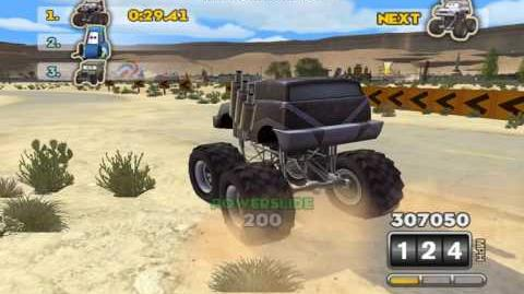 Cars Mater National Hi Octane Mod Monster truck relay