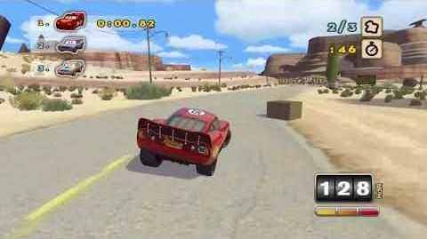Cars Superdrive- Episode 1 - A Simple Race in Radiator Springs