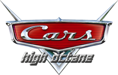Cars Pixar logo high octane