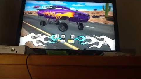 Cars Mater National Ramone's Rythamic Rumble 1 Expert mode