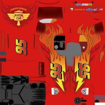 WGP McQueen Texture Updated