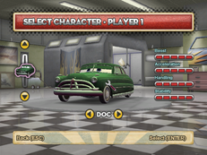 Doc hudson's green paintjob
