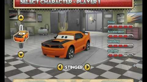 Cars Mater National-Hi-Octane Edition All characters of the version 1.9.2.0