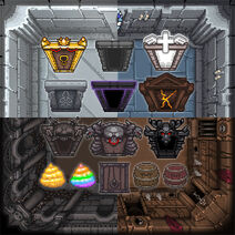 Backgrounds and doors