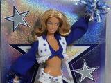 Dallas Cowboys Cheerleader/Caucasian