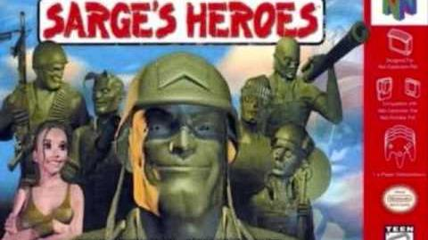Army Men Sarge's Heroes - Boot Camp