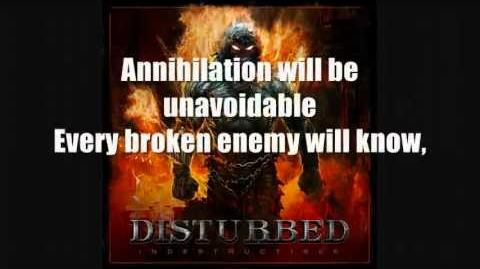 Disturbed Indestructible Lyrics YouTube