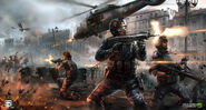Modern Combat 5 concept art