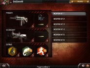 MC3-Loadout selection screen