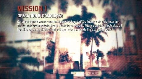 Modern Combat 3 Campaign Mission 01 Operation Blockbuster