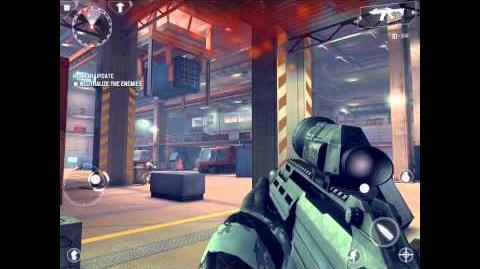 Modern Combat 4 Mission 11 Gameplay on iPad 4