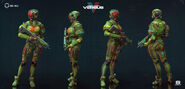 Modern Combat Versus Mantis Mi-Nu