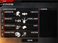 MC4-Intervention specialisation-armory