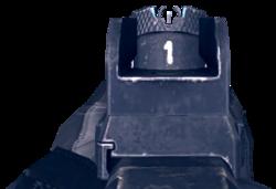 Charbtek-28 Iron Sights