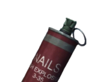 Nail grenade