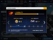 MC5-Weapon upgrade interface