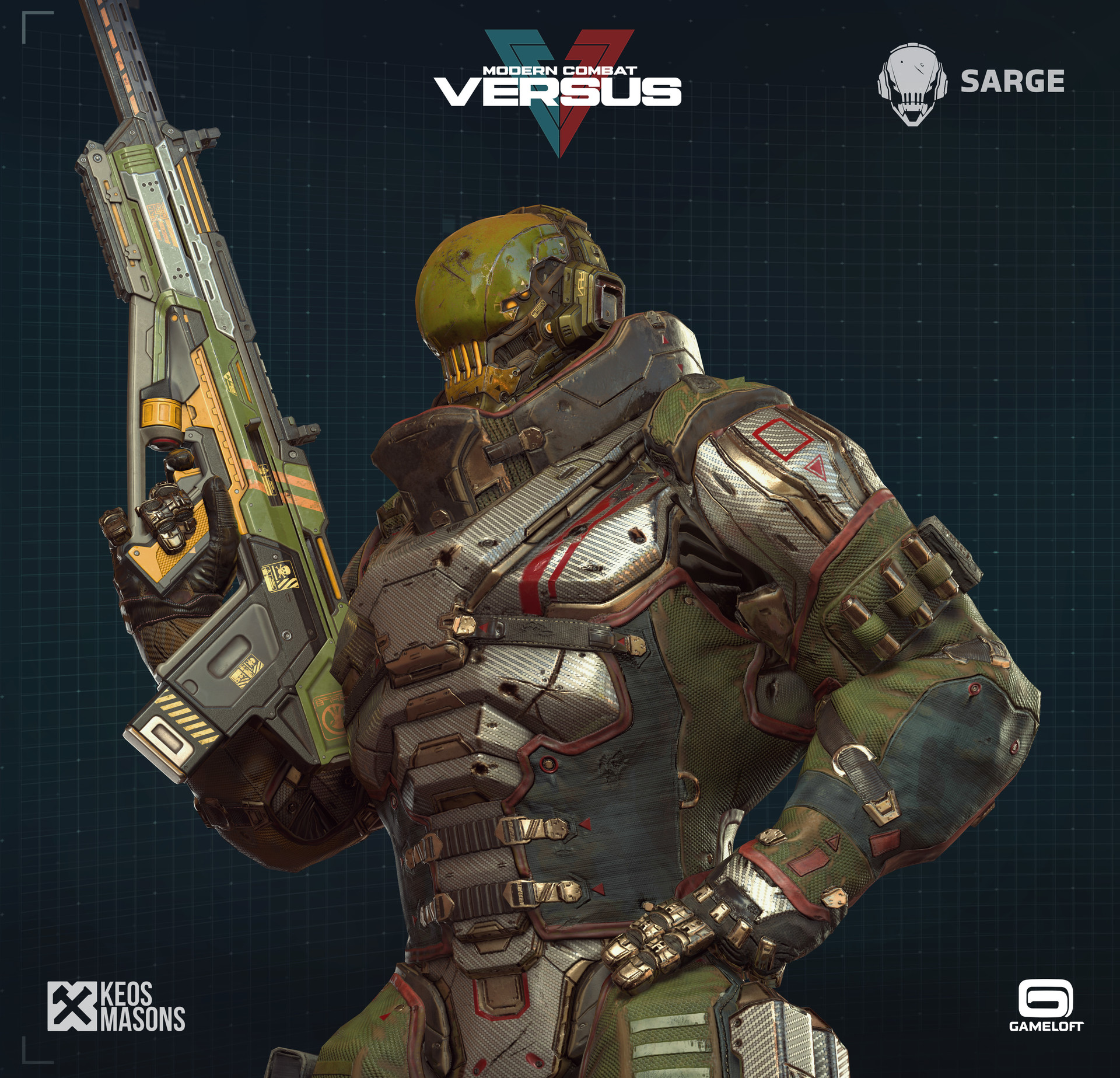 MCV Mugshot Sarge