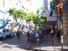 Calle en Salto